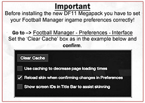 Football Manager Preferences Delete Cache